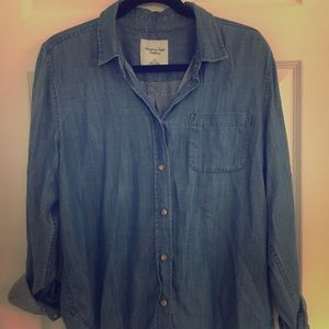 Super soft chambray shirt